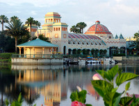 Lake at Coronado Springs
