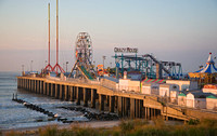 Steel Pier at dawn