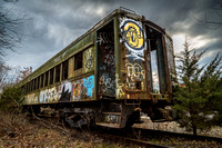 Abandoned Railroad Cars